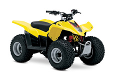 The 2017 QuadSport Z50 is the entry level four-stroke ATV that's ideal for riders starting in the sport. With an emphasis on safety and adult control, this Quad features a throttle limiter to control engine output, a tether switch to remotely shut off the ignition, and a keyed main switch that prevents unauthorized use. Adjustable hand controls, an automatic transmission, full floorboards, and a low seat height make sure that beginning riders (age 6 and older) will enjoy active convenience and control. To sum it up, the QuadSport Z50 is packed with quality, safety and style making it the perfect choice for younger adventurers!